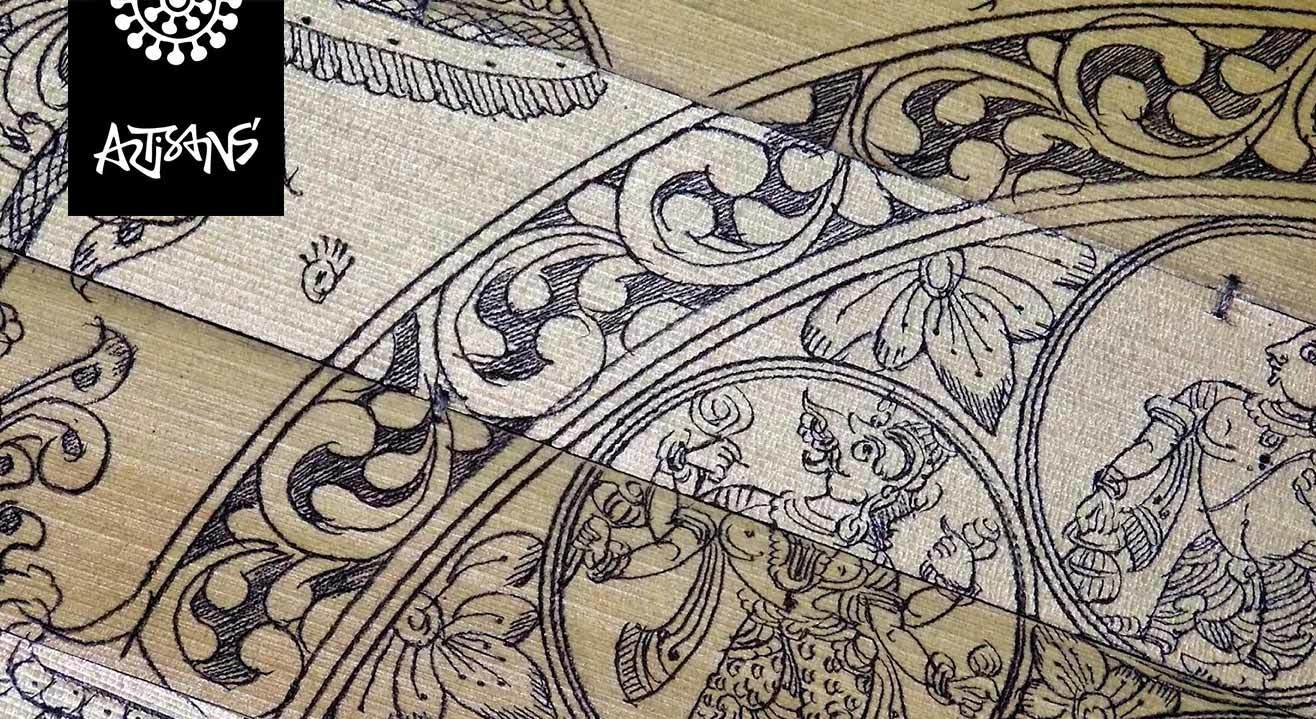 Etched With Love : Workshop On Tala Pattachitra (Palm Leaf Engraving)
