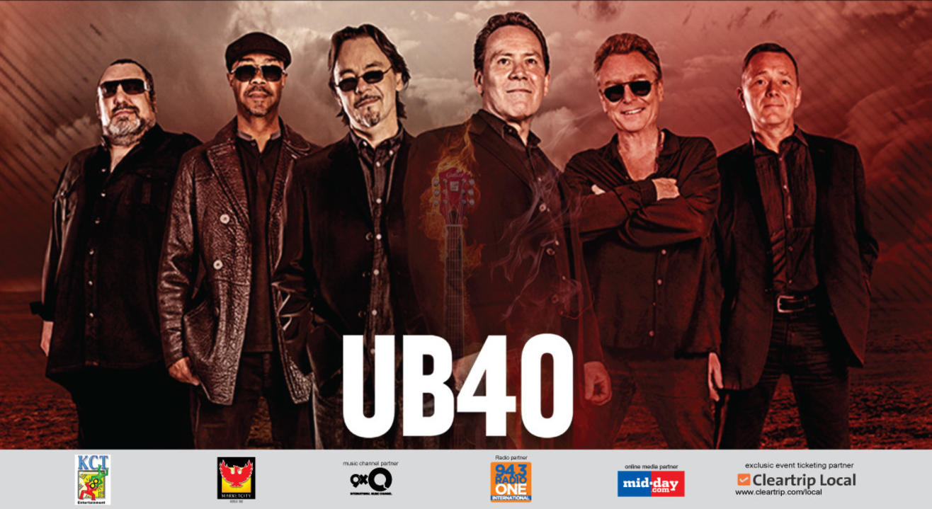 UB40 India Tour 2017, Mumbai