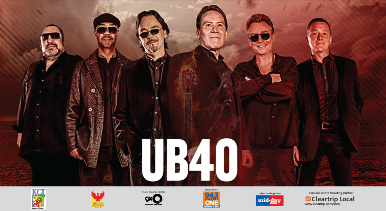 UB40 India Tour 2017, Pune