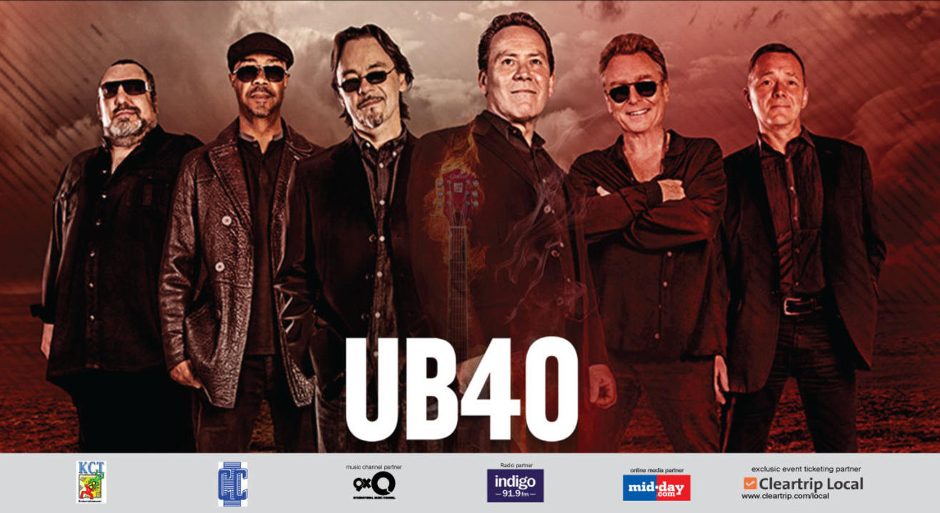 UB40 India Tour 2017, Bangalore