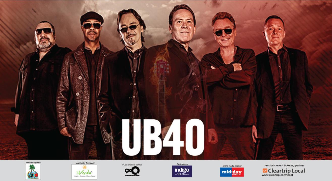UB40 India Tour 2017, Goa