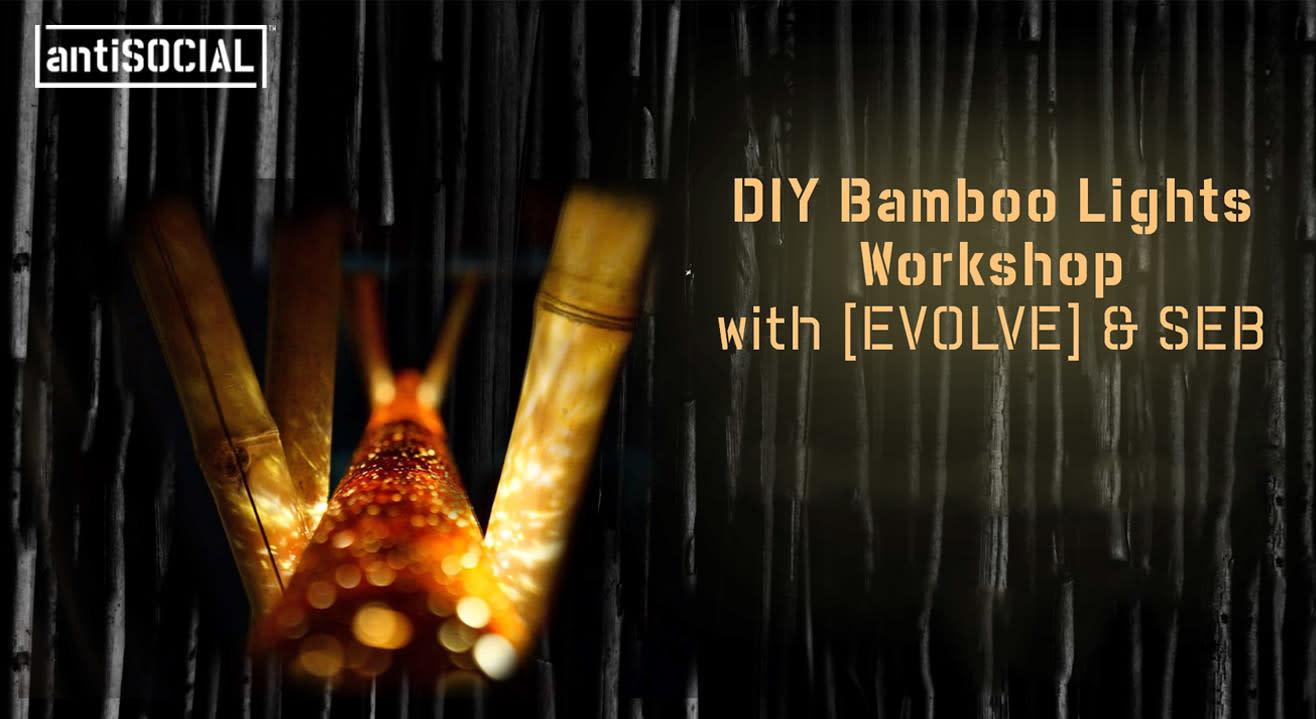 DIY Bamboo Lights Workshop