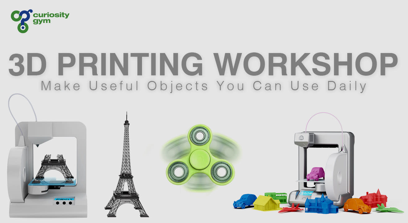 Book tickets to 3D Print Useful Products For Your Daily Life a72395305