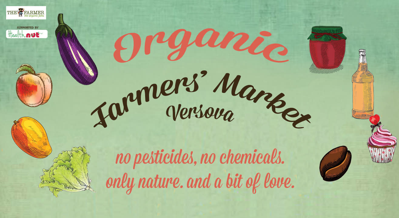 Versova's First Completely Organic Farmers' Market