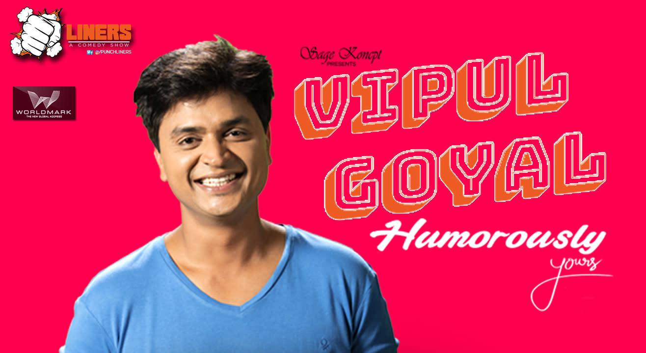 Punchliners: Stand Up Comedy ft. Vipul Goyal at Food Capital, Worldmark
