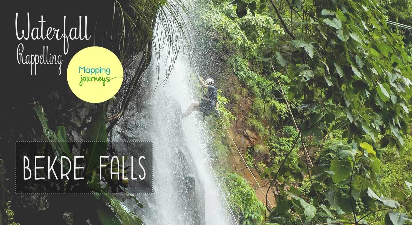 Waterfall Rappelling - Bekre Falls