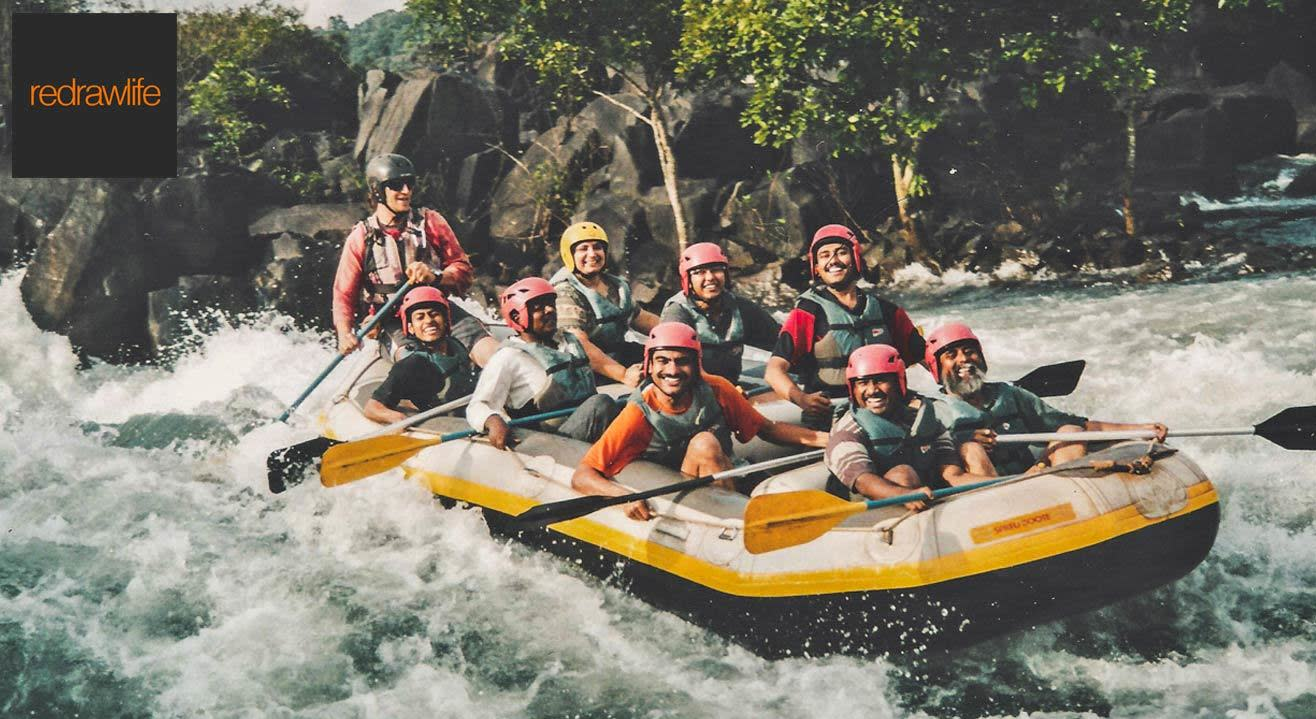 White Water Rafting On Tejaswini River