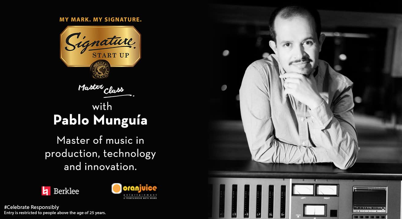 Masterclass with Pablo Munguia