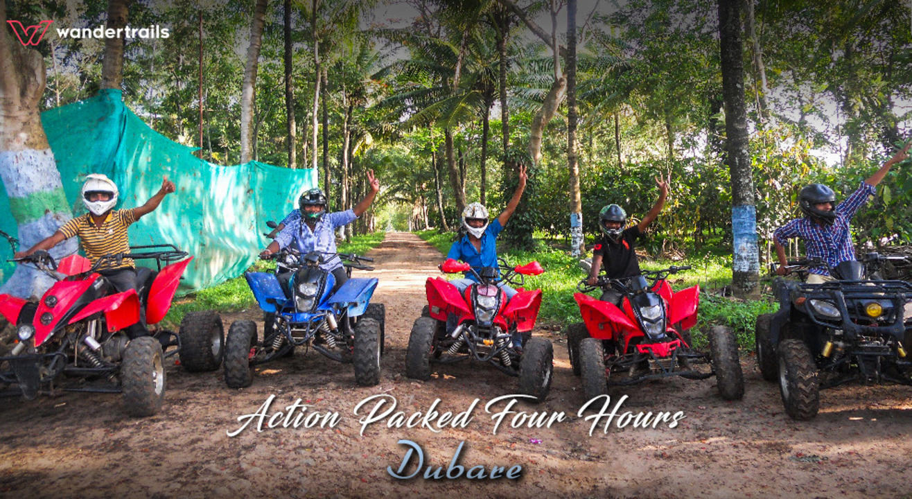Action-packed 4 hours in Dubare, Coorg | Wandertrails