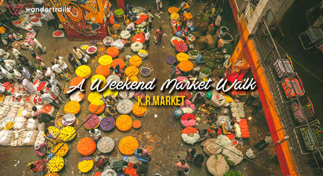 Market Walk: A shopping spree at K.R.Market
