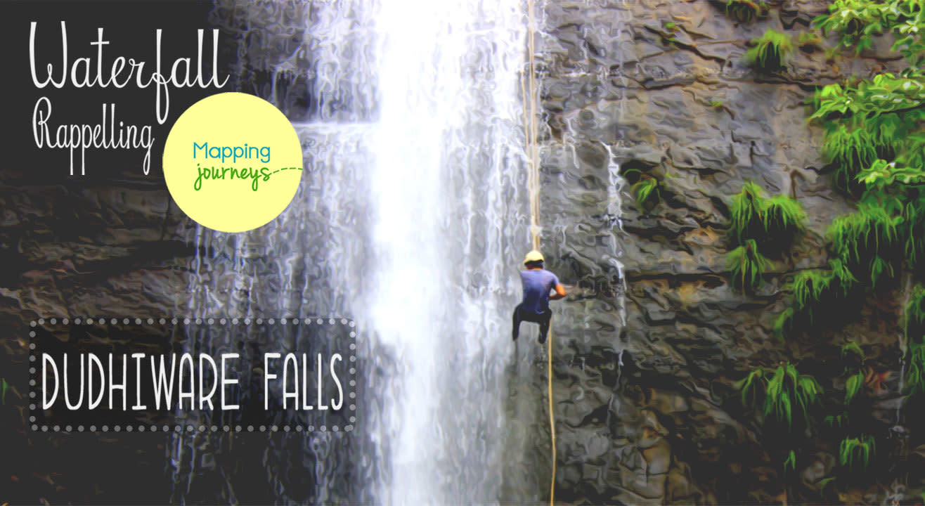 Waterfall Rappelling - Dudhiware Falls