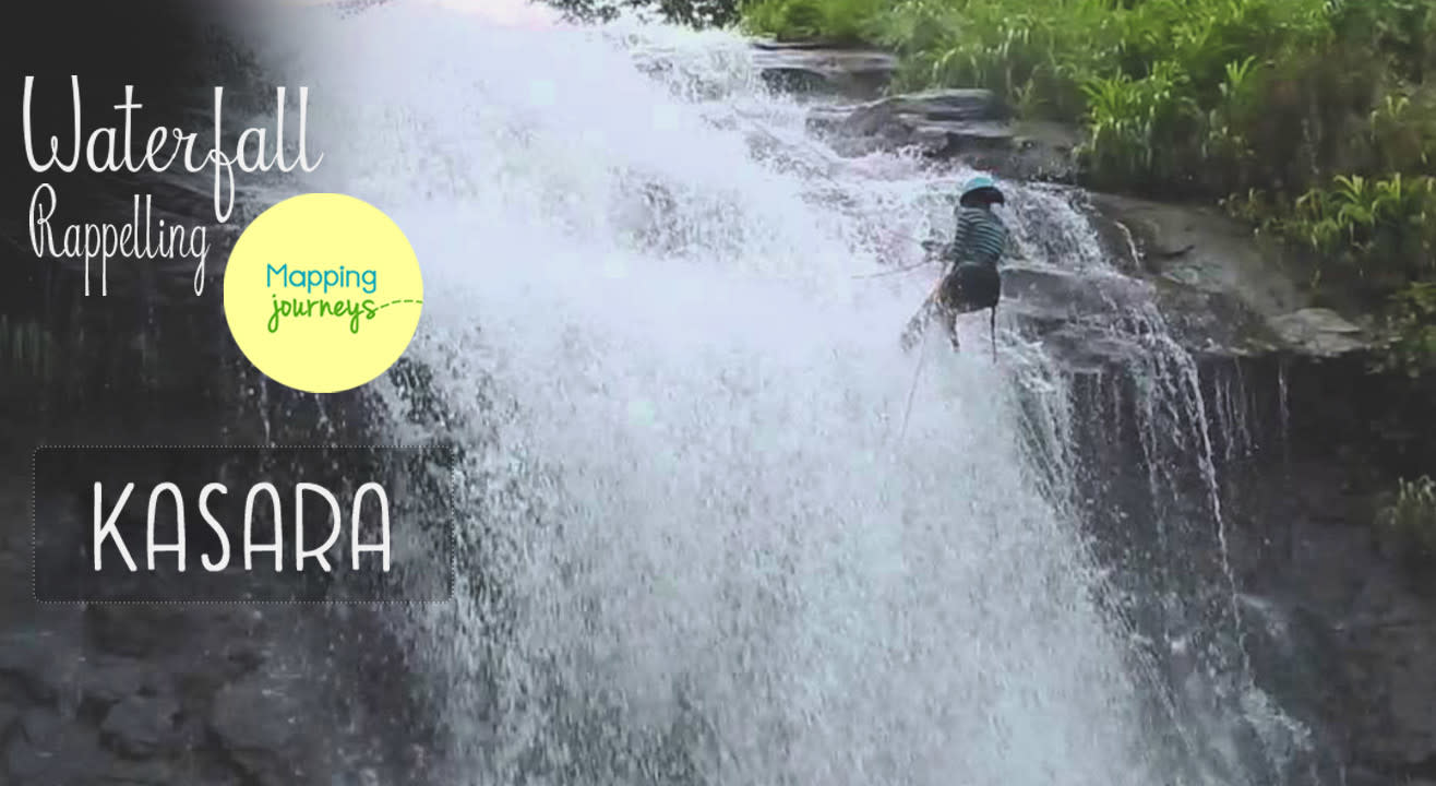 Waterfall Rappelling - Kasara