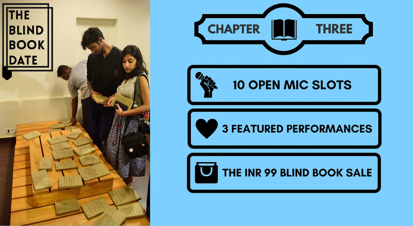 The Blind Book Date: Chapter Three
