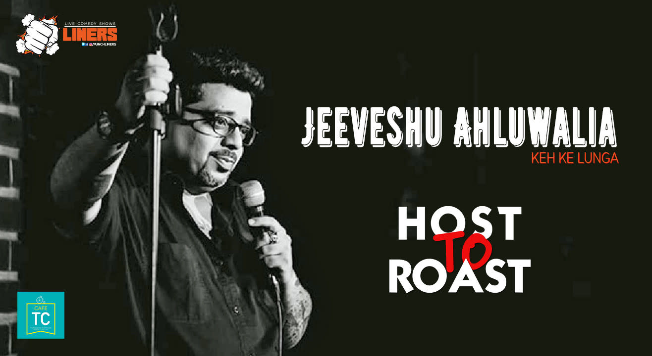 Punchliners: Host To Roast feat. Jeeveshu Ahluwalia at Turquoise Cottage, Delhi