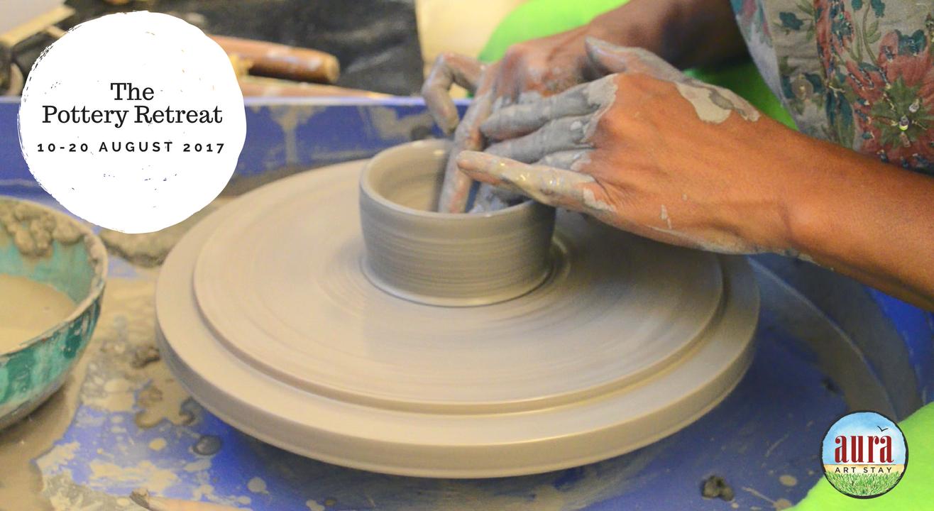 Pottery Retreat at Aura Art Stay
