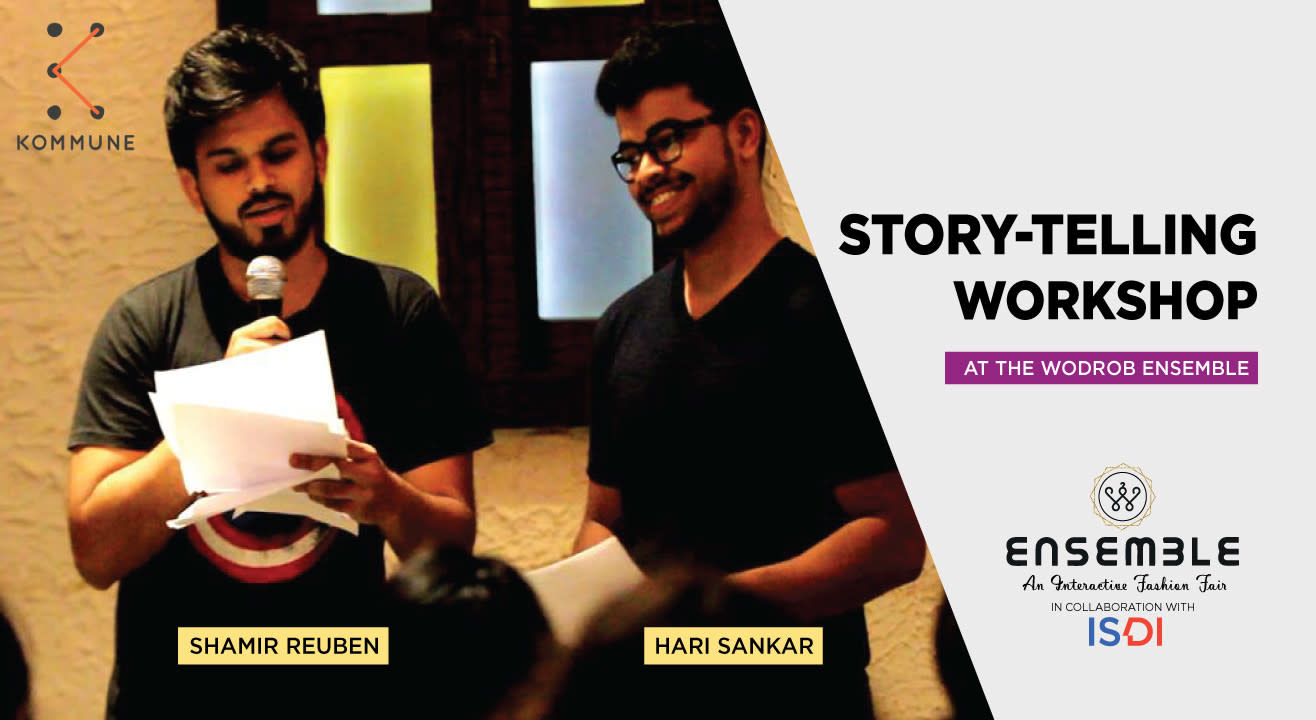 Story Telling Workshop by Kommune At WODROB Ensemble