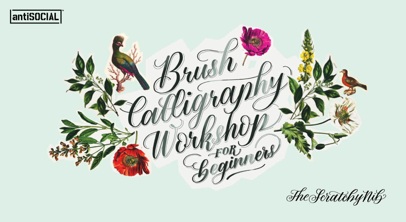 Brush Calligraphy Workshop for Beginners