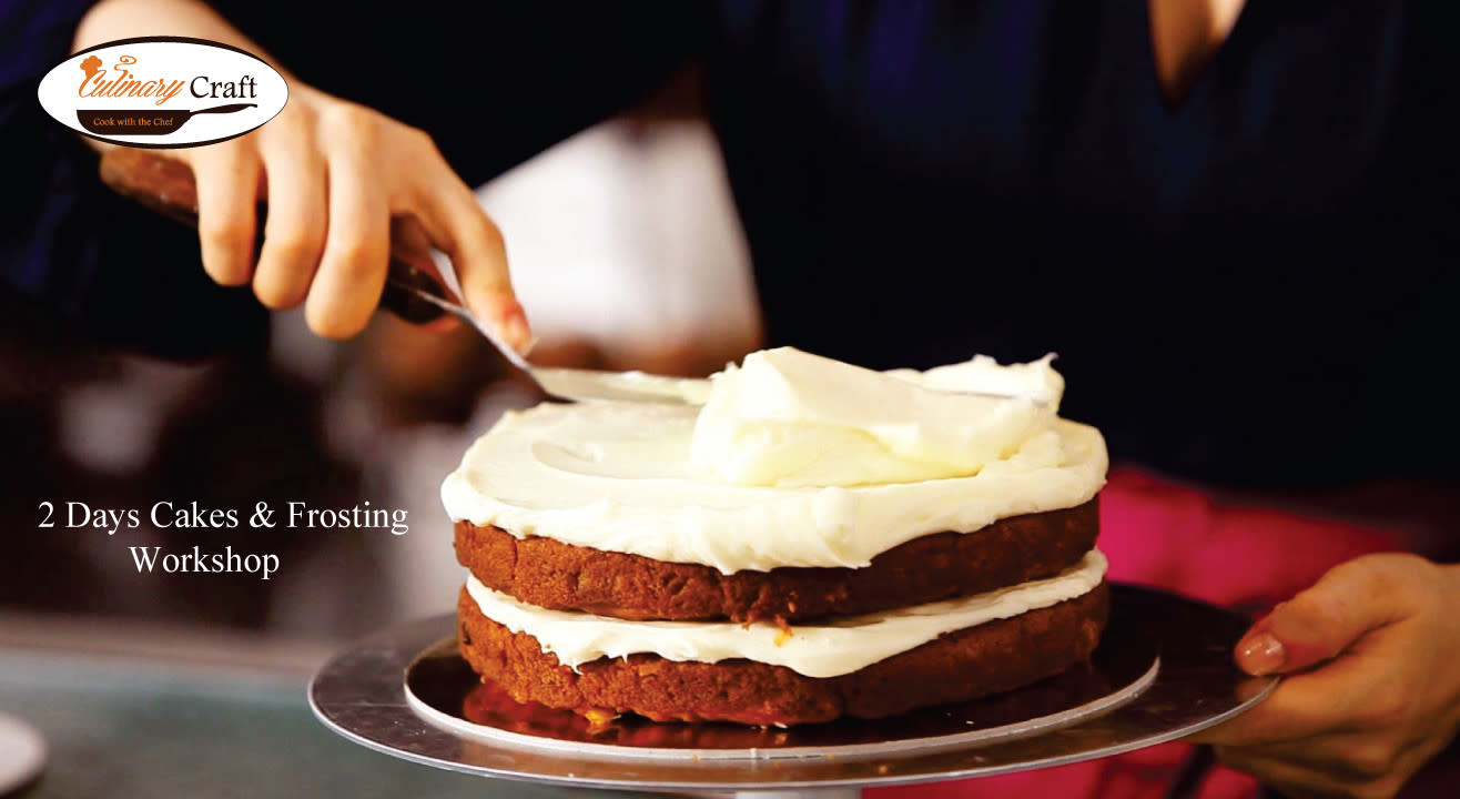 Two Day Cake & Frosting Workshop