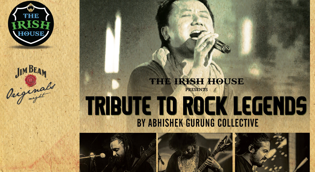 The Irish House presents Tribute to Rock Legends