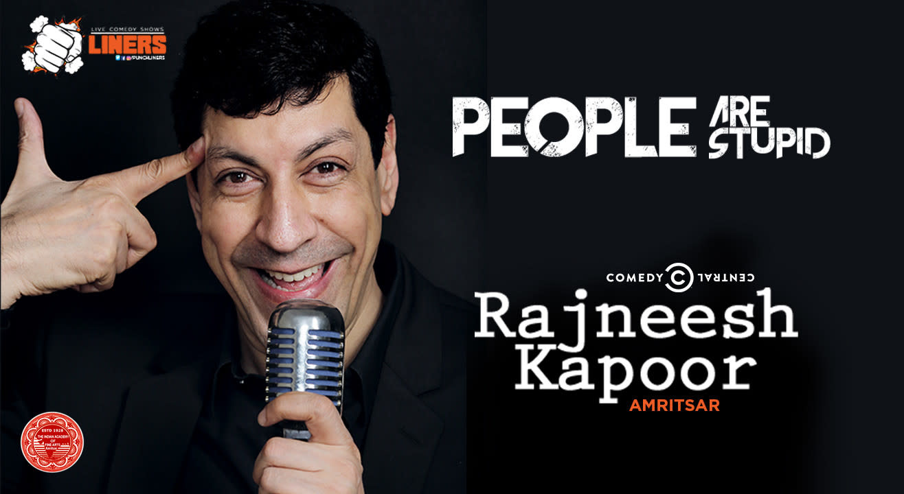 Punchliners: Stand Up Comedy Show feat. Rajneesh Kapoor in Amritsar