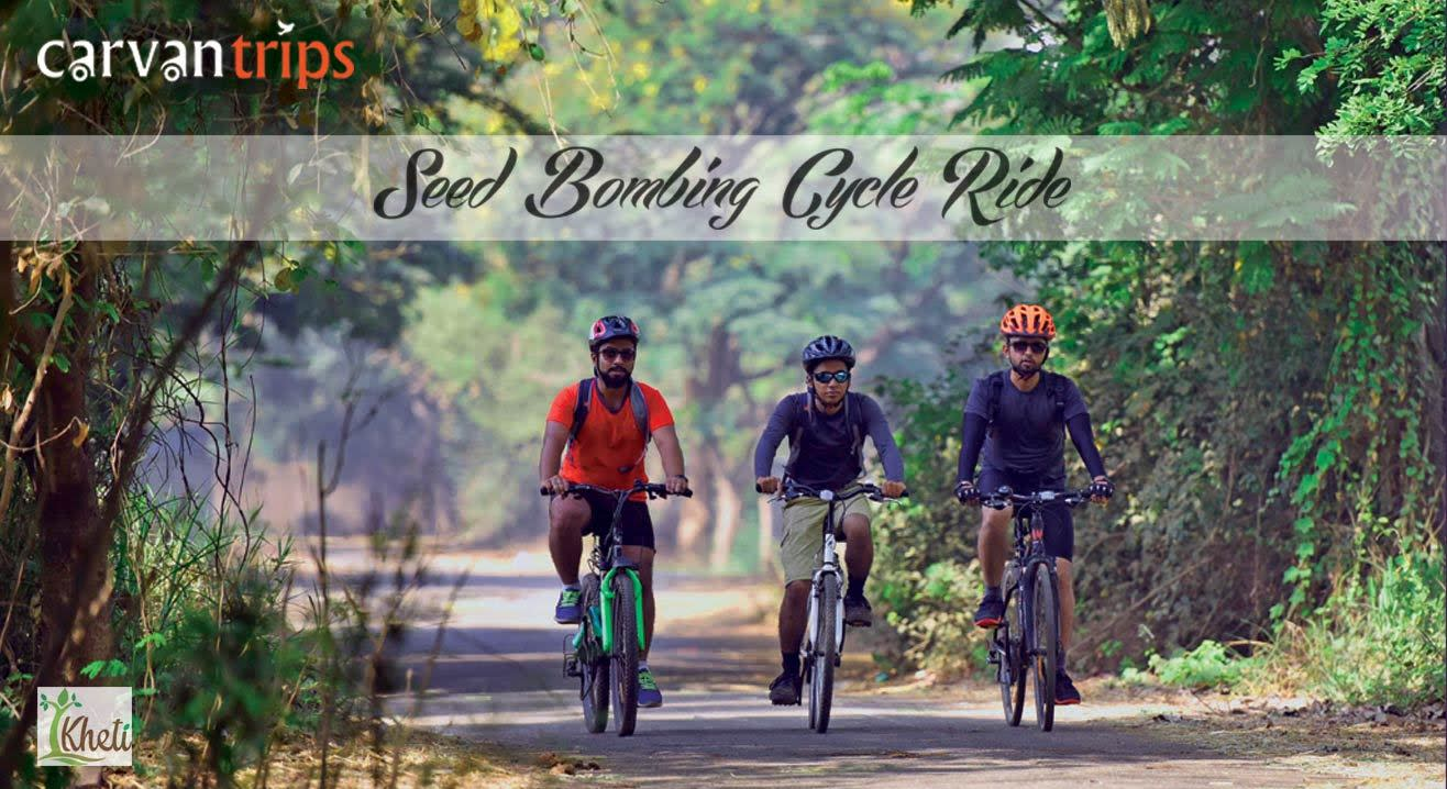 Seed Bombing Cycle Ride (Independence Day Special)