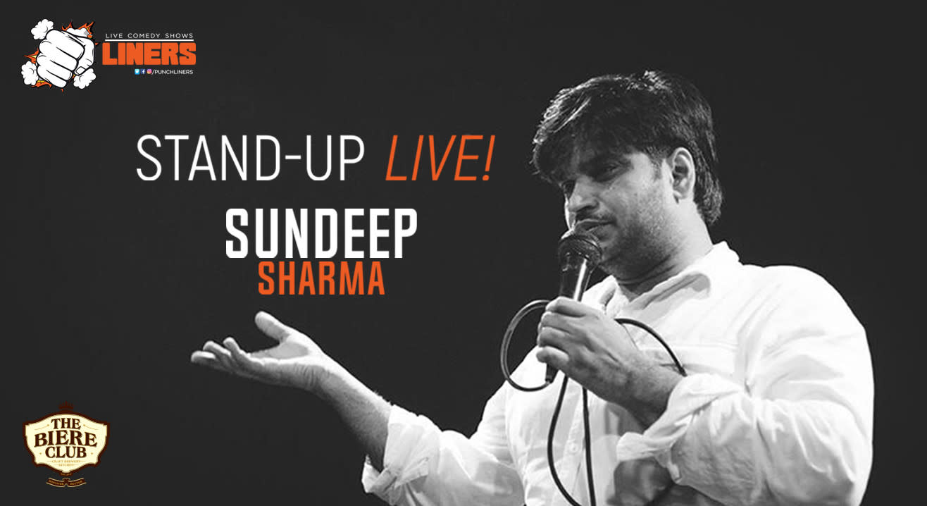 Punchliners: Standup Comedy Show ft. Sundeep Sharma in Bangalore