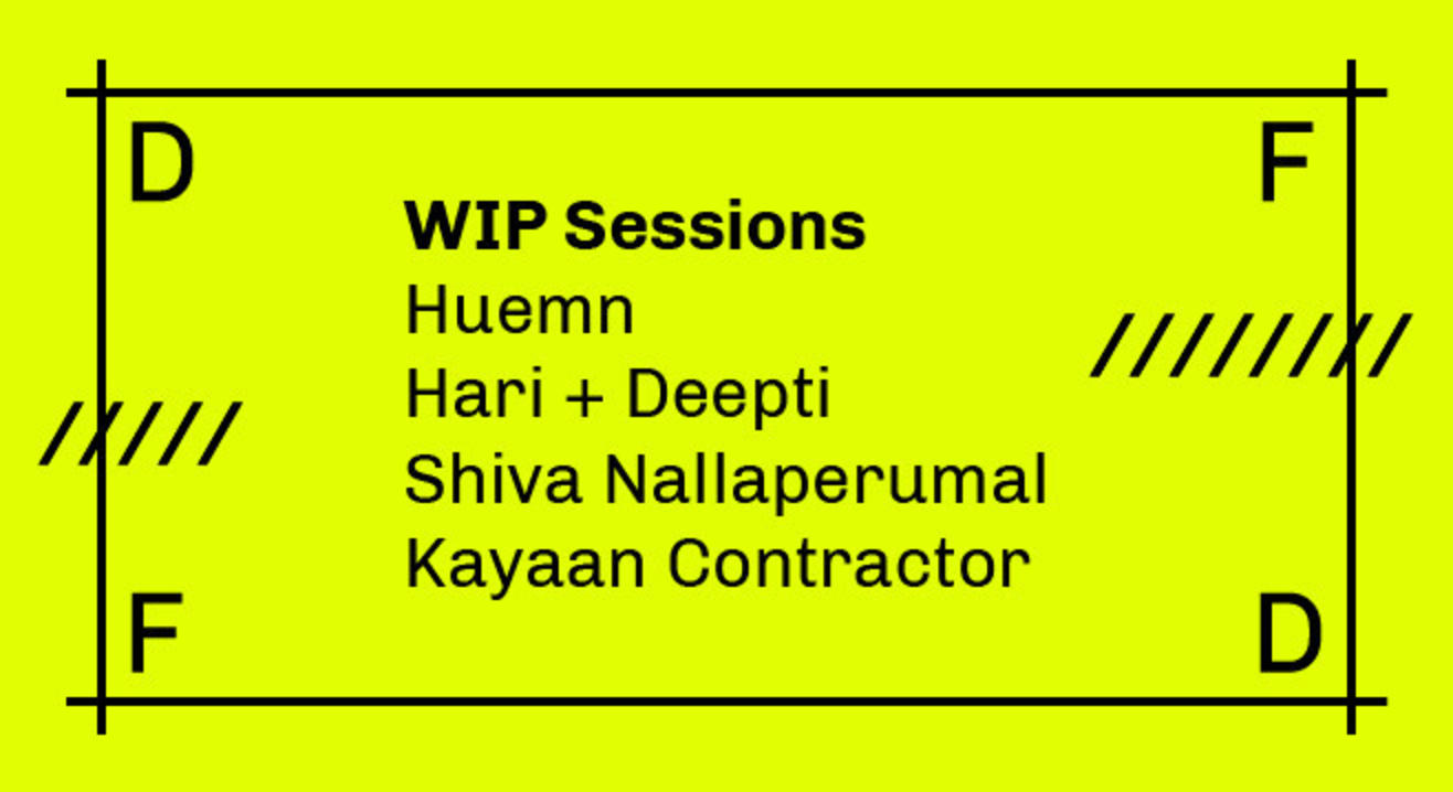 WIP Sessions by Design Fabric