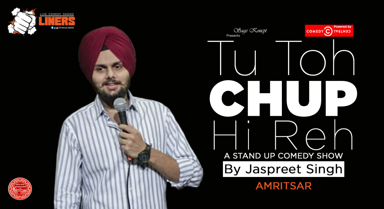 Punchliners: Standup Comedy Show ft. Jaspreet Singh live in Amritsar