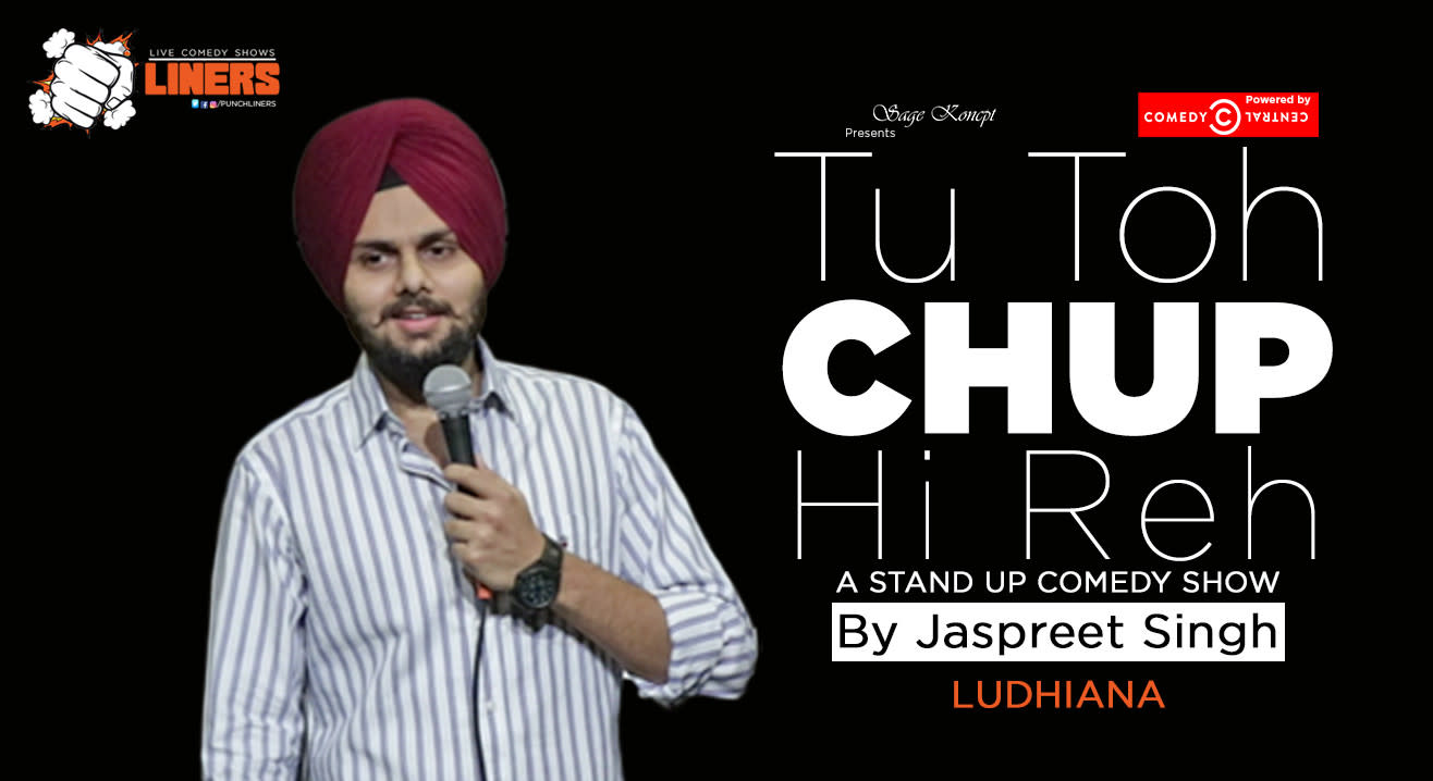 Punchliners: Standup Comedy Show ft. Jaspreet Singh live in Ludhiana