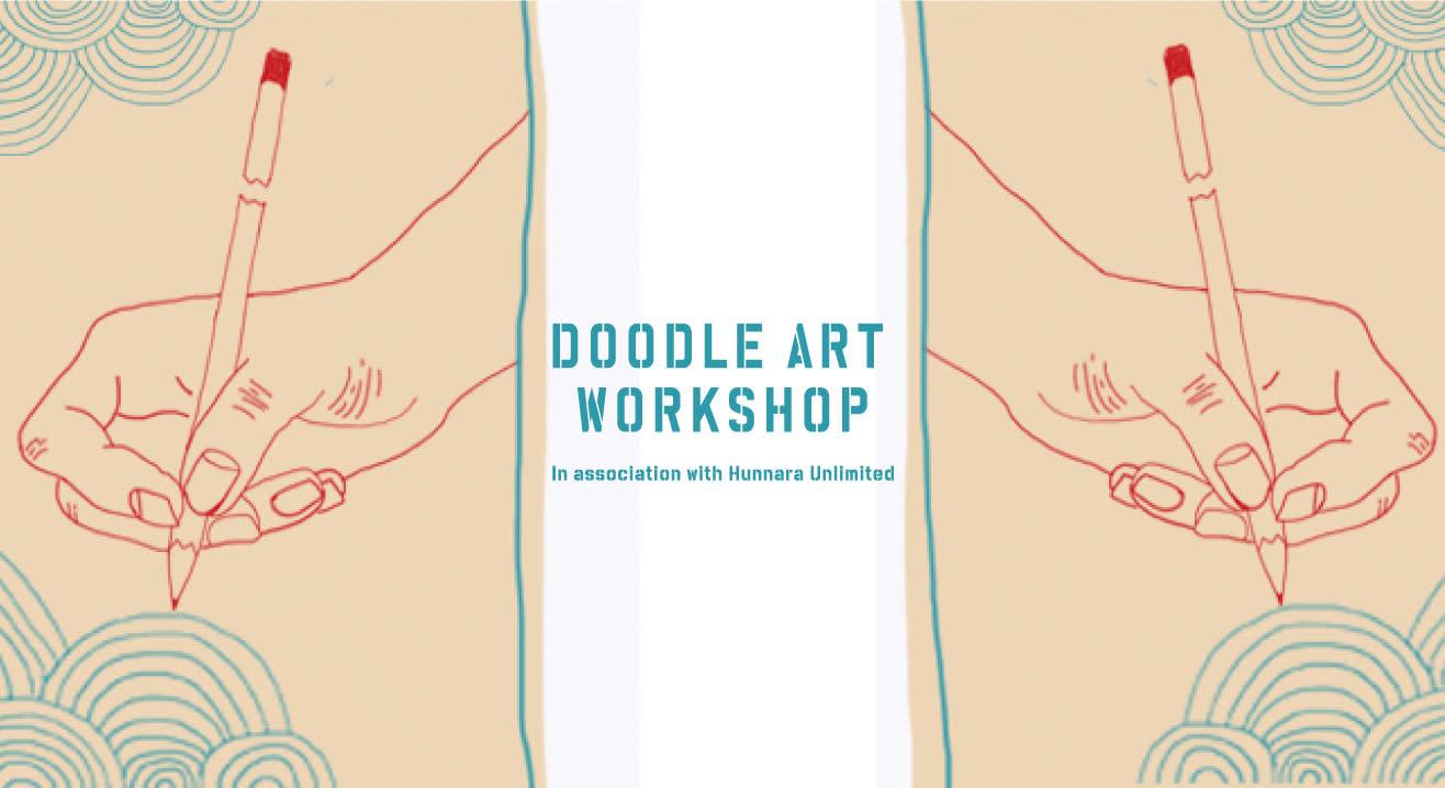 Doodle Art Workshop at #FunRepublicSocial