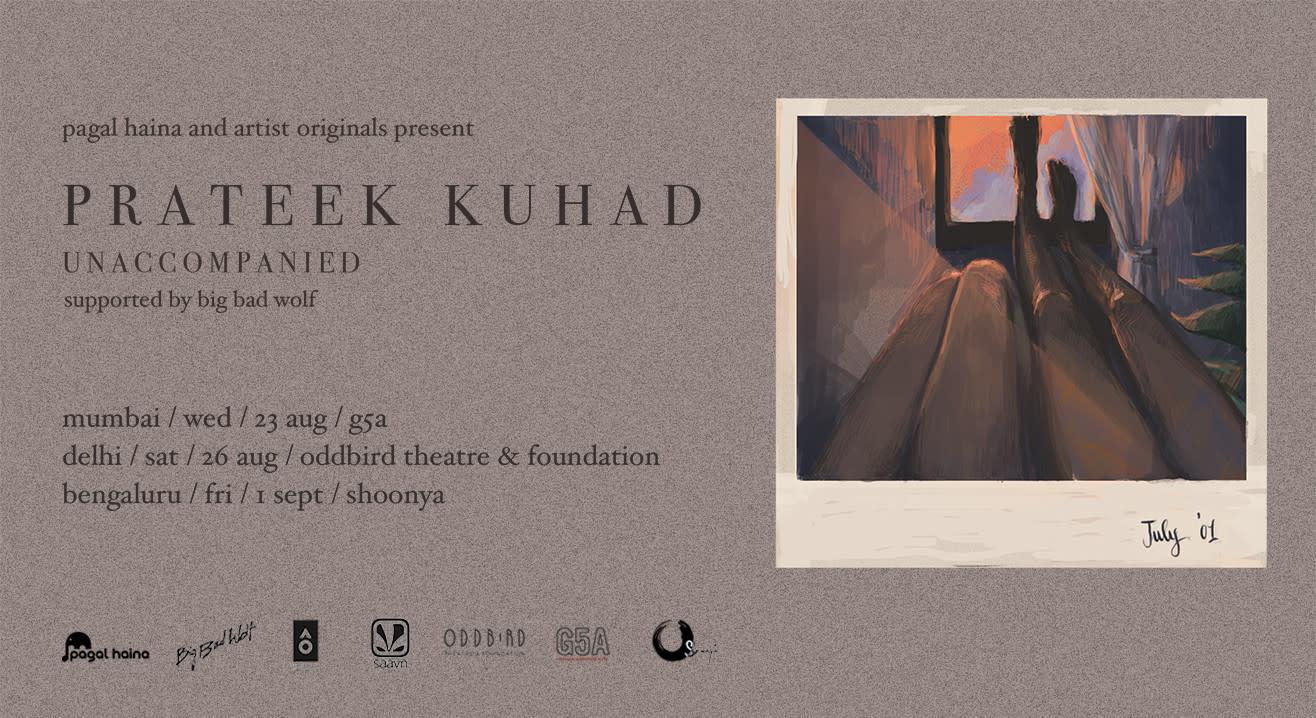 Prateek Kuhad - Unaccompanied Tour, 2017