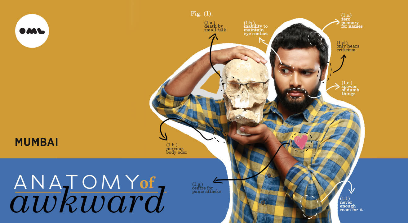 Anatomy of Awkward Tour 2017 ft Kautuk Srivastava, Mumbai