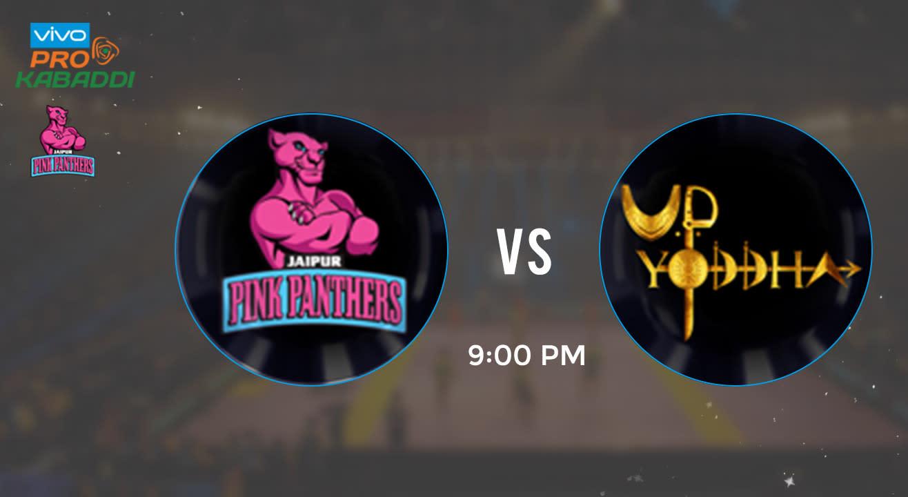 Pro Kabaddi Tickets - Jaipur Pink Panthers vs UP Yoddha