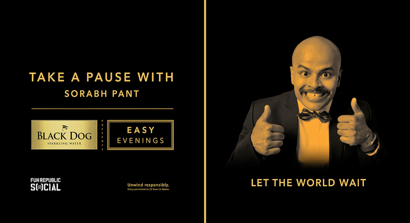 Black Dog Easy Evenings present: Sorabh Pant