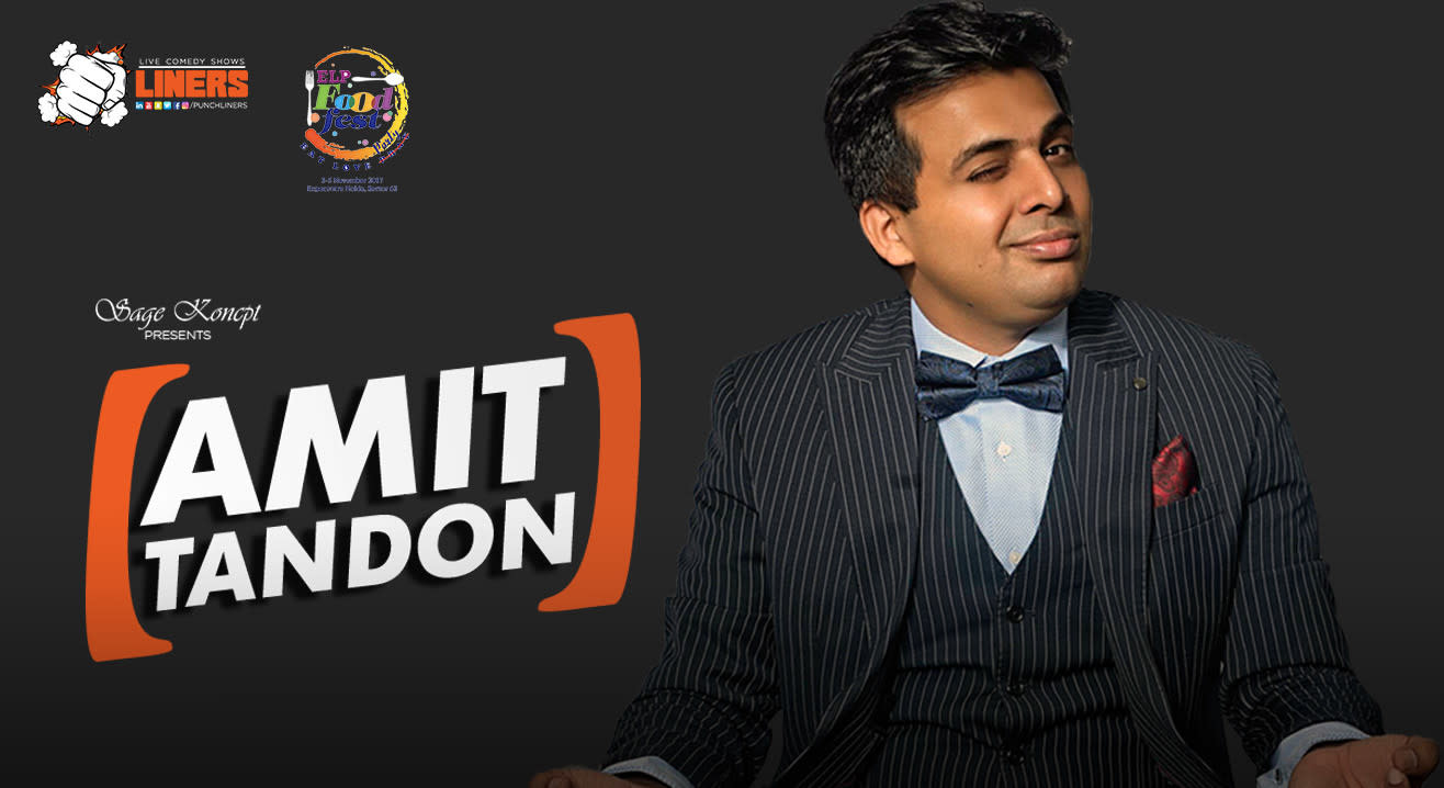 Punchliners: Stand Up Comedy Show feat. Amit Tandon