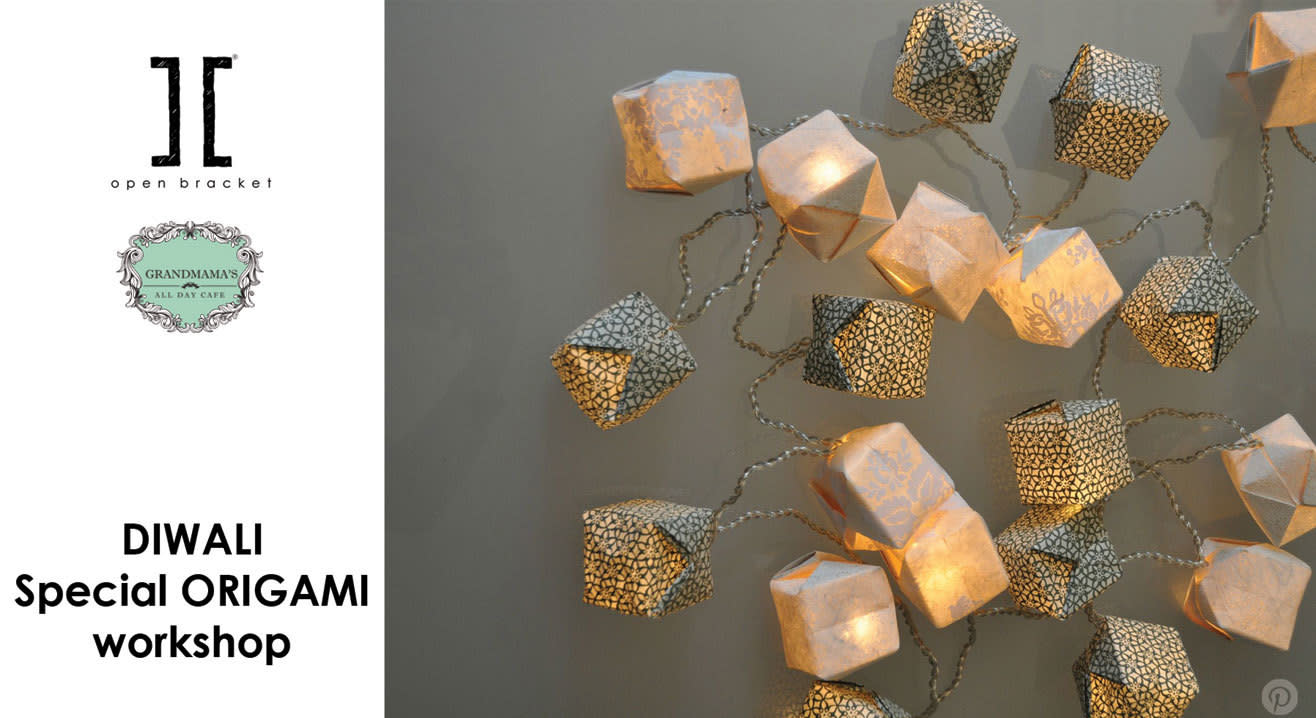 Open Bracket Presents - Diwali Special Origami Workshop
