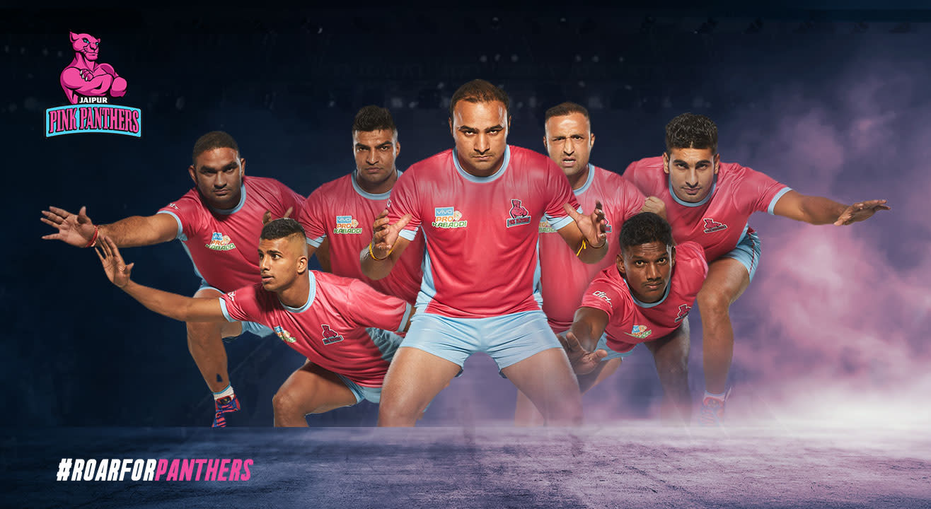 Pro Kabaddi League 2017 Combo Passes of Jaipur Pink Panthers
