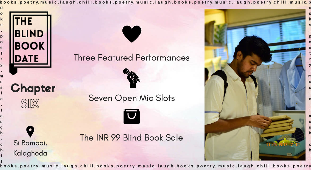 The Blind Book Date: Chapter Six