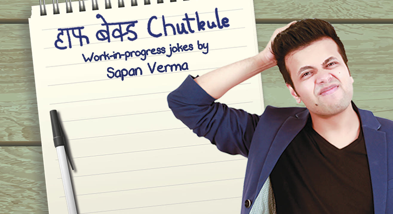 Half Baked Chutkule : Work-in Progress Jokes by Sapan Verma
