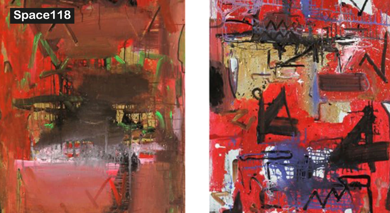 Abstract Art Workshop by Rajendra Patil
