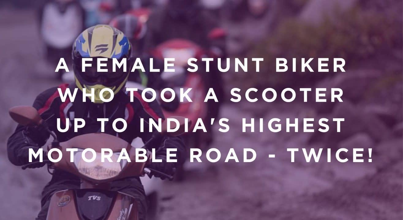 #TrySomethingNew: Anam Hashim, The 21-year old Female Stunt Biker