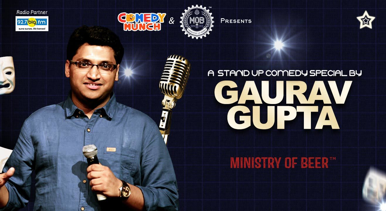 Comedy Munch: A Stand Up Comedy Special By Gaurav Gupta