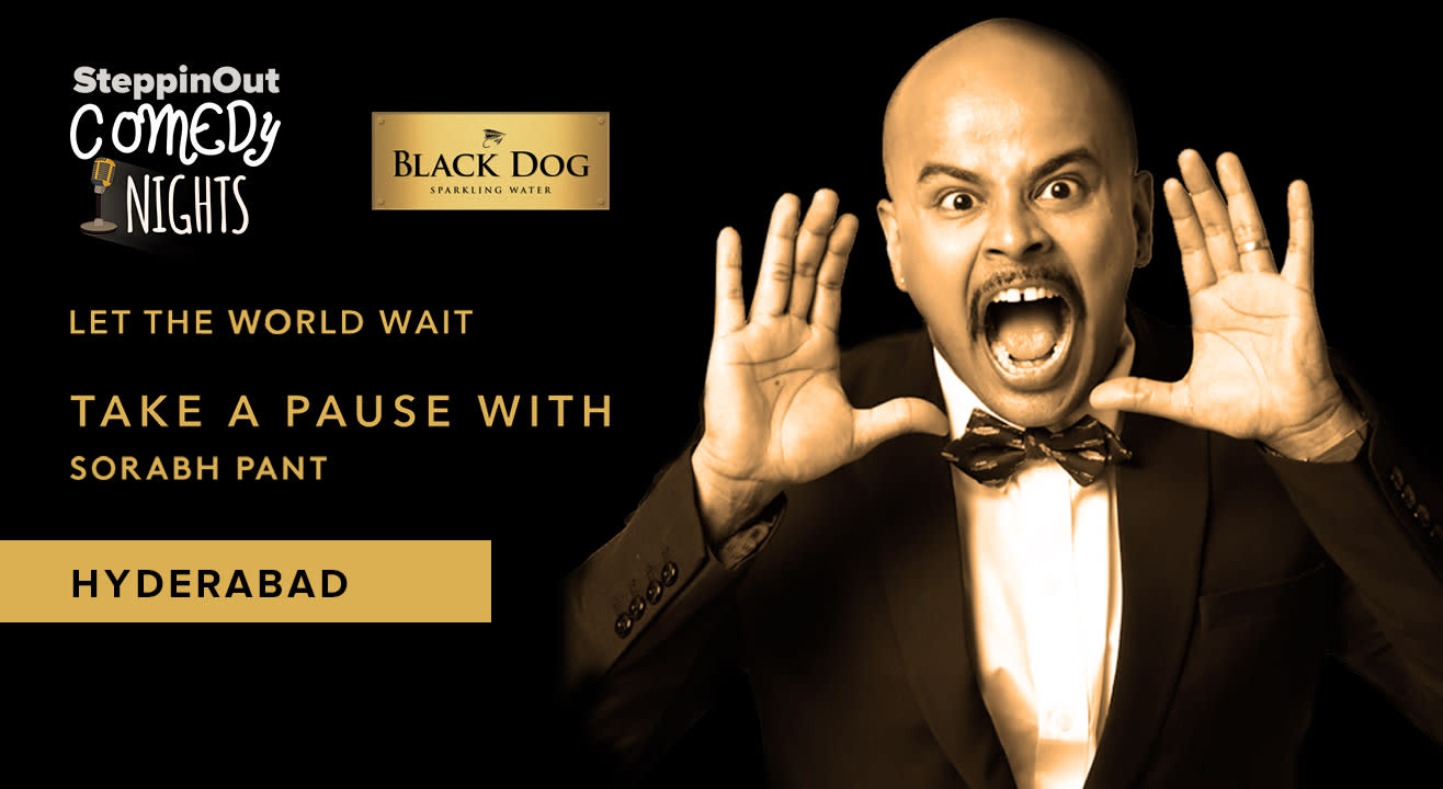 Black Dog Easy Evening with Sorabh Pant - Steppinout Comedy Nights, Hyderabad
