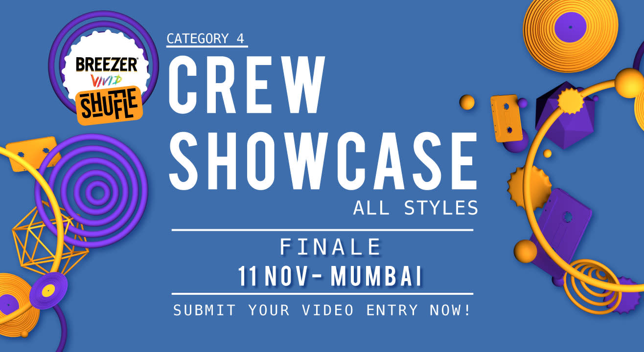 Breezer Vivid Shuffle: Crew Showcases