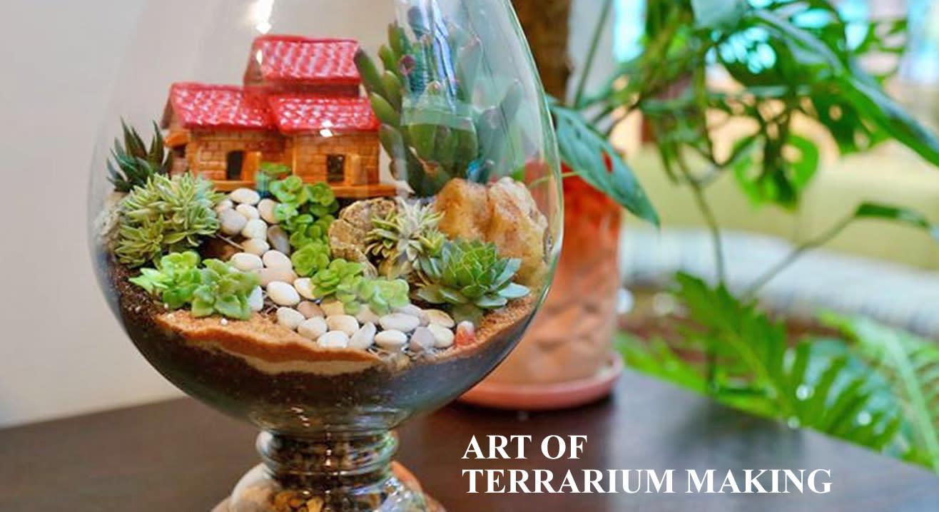 Terrarium Workshop by Bloom & Grow