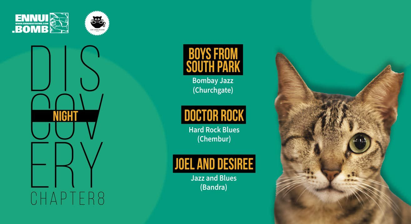 Discovery Night Chapter VIII at Cat Cafe Studio