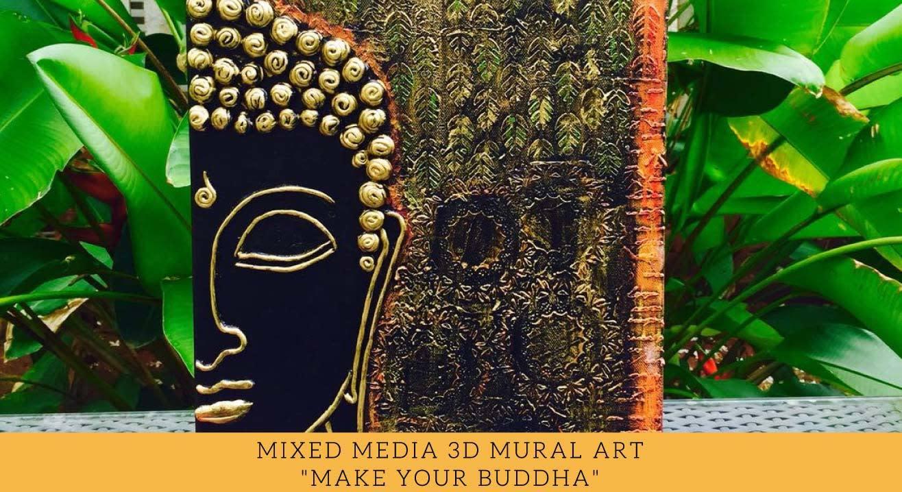 Mixed Media 3D Mural Art Workshop