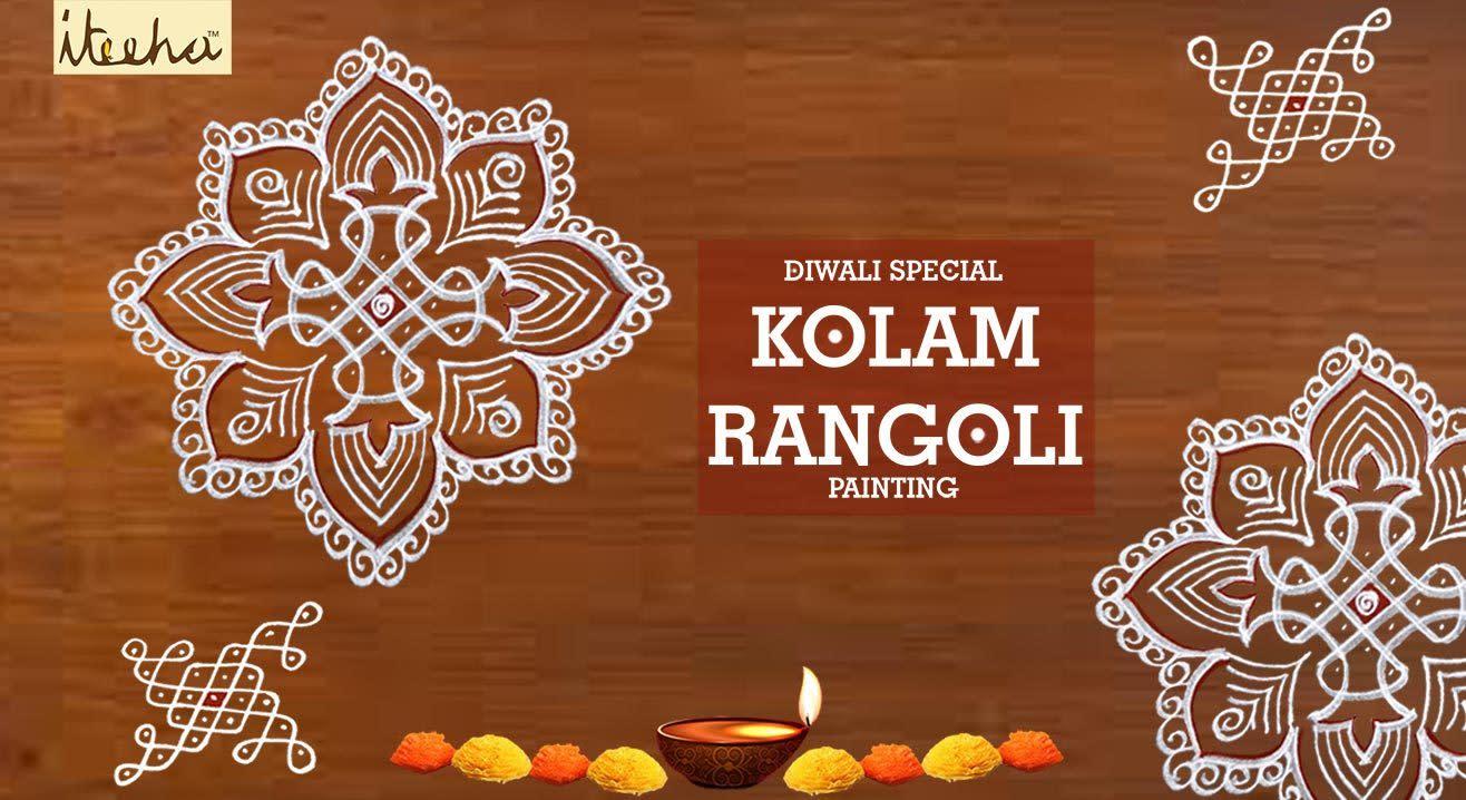 Diwali Special Kolam Rangoli Painting Workshop