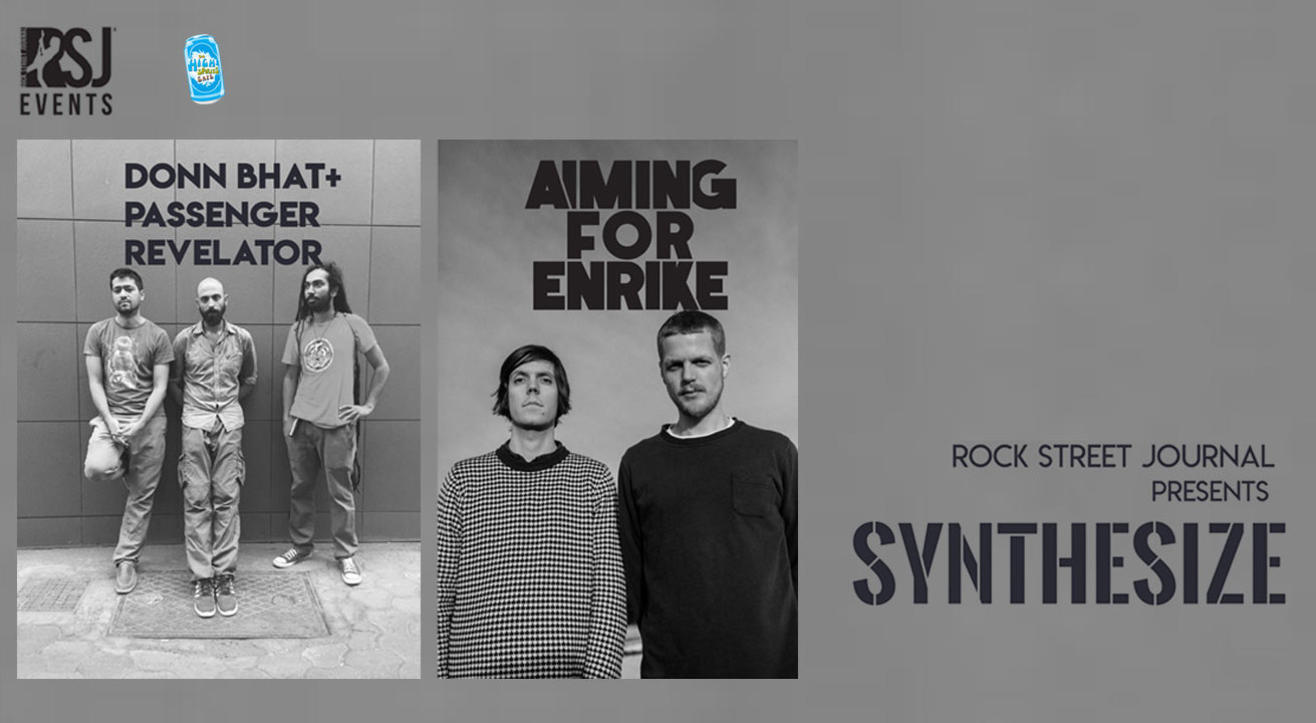 RSJ Presents Synthesize | Aiming For Enrike & Donn Bhat + Passenger Revelator
