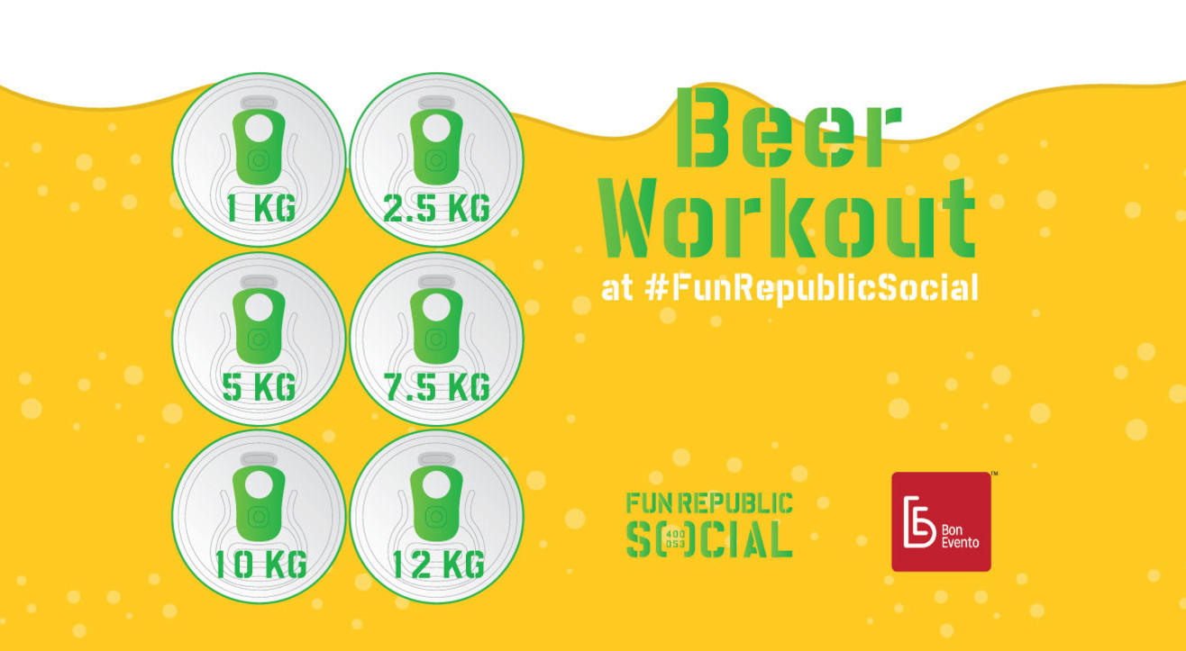 Beer Workoutat #FunRepublicSocial
